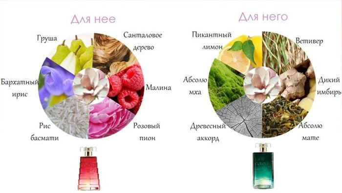 Парные ароматы Avon Life Colour